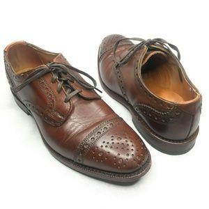 Allen Edmonds Rogue Dark Chili Dress Shoes Oxford